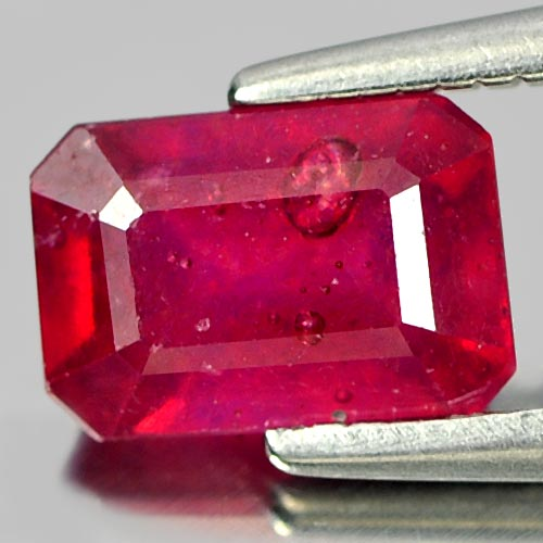 1.51 Ct. Calibrate Size Natural Gem Purplish Red Ruby