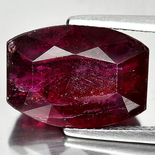 11.95 Ct. Fancy Shape Natural Purplish Red Ruby Madagascar