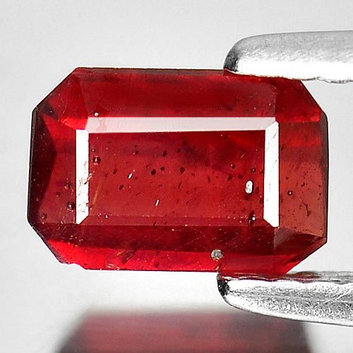 1.25 Ct. Octagon Shape Natural Gemstone Red Ruby Madagascar