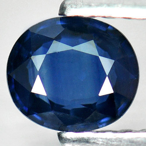 0.59 Ct. Oval Shape Natural Blue Sapphire Madagascar Gem