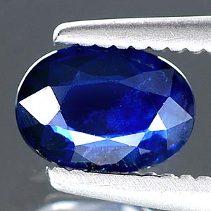 0.56 Ct Oval Shape Natural Blue Sapphire Madagascar Gem