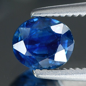 0.69 Ct. Oval Shape Natural Blue Sapphire Thailand Gem