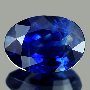 0.64 Ct. Oval Shape Natural Gem Blue Sapphire Thailand