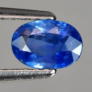 0.51 Ct. Good Oval Shape Natural Gem Blue Sapphire