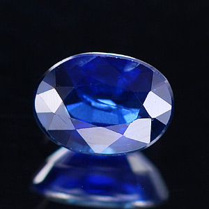 0.72 Ct. Oval Shape Natural Gemstone Blue Sapphire From Thailand