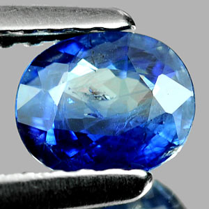 0.54 Ct. Oval Shape Natural Gem Blue Sapphire Thailand