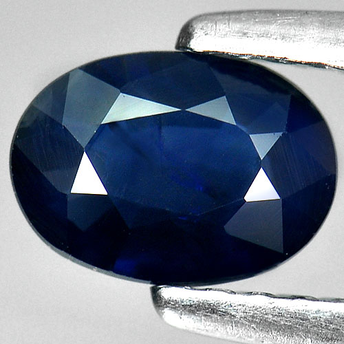 0.63 Ct. Oval Shape Natural Blue Sapphire From Thailand