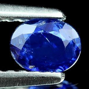 0.38 Ct. Oval Shape Natural Blue Sapphire Thailand Gem