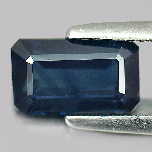 1.89 Ct. Certified Natural Blue Sapphire Gemstone Octagon Shape Madagascar