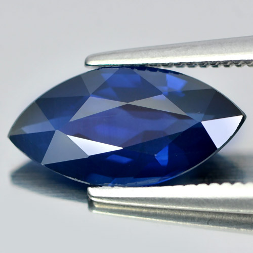 2.00 Ct. Natural Gemstone Blue Sapphire Marquise Shape From Thailand Heated Only