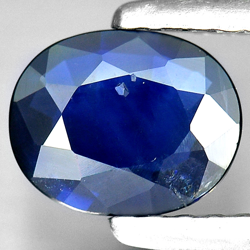0.75 Ct. Oval Shape Natural Blue Sapphire Gem