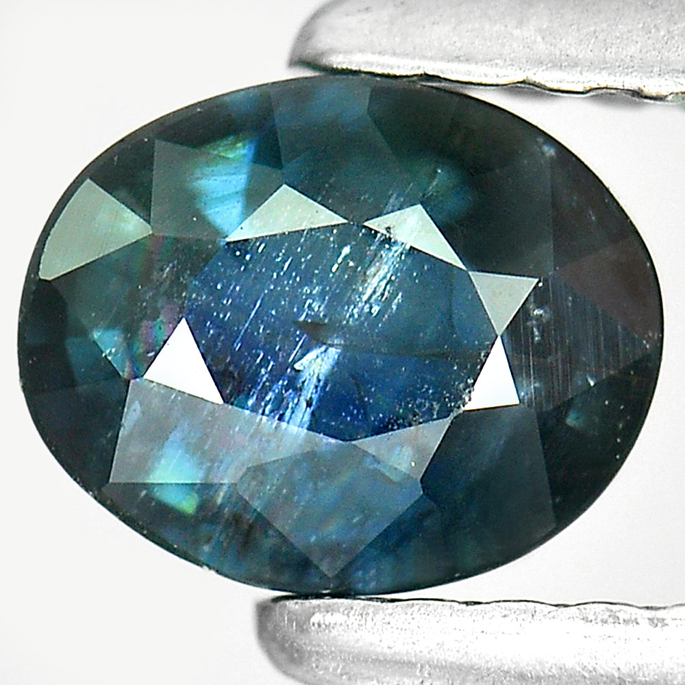 0.71 Ct. Oval Shape Natural Blue Sapphire Bangkaja Thailand