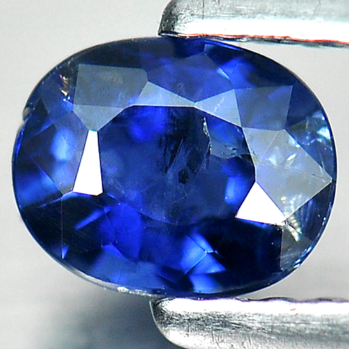 0.63 Ct. Natural Blue Sapphire Gemstone Oval Shape