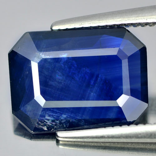 2.45 Ct. Natural Gemstone Blue Sapphire Octagon Shape From Thailand
