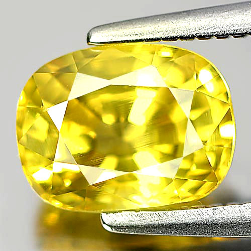 1.79 Ct. Cushion Shape Natural Gemstone Yellow Sapphire From Thailand