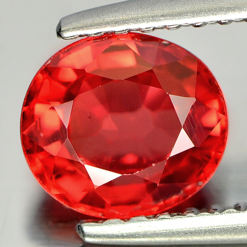 1.43 Ct. Attractive Natural Red Songea Sapphire Gemstones Oval Shape Tanzania