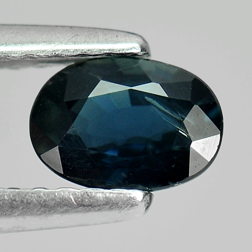 0.69 Ct. Oval Shape Natural Gemstone Blue Sapphire From Thailand