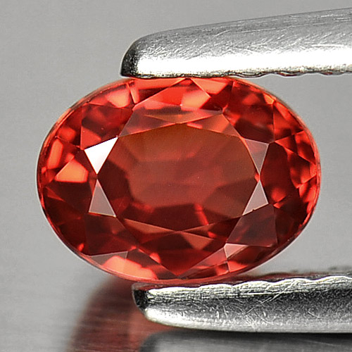 1.05 Ct. Alluring Gemstone Natural Red Songea Sapphire Oval Shape