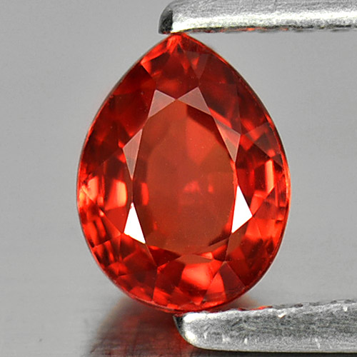 1.05 Ct. Charming Gemstone Natural Red Songea Sapphire Pear Shape