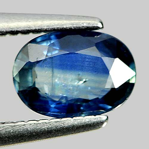 0.69 Ct. Good Natural Gemstone Blue Sapphire Oval Shape