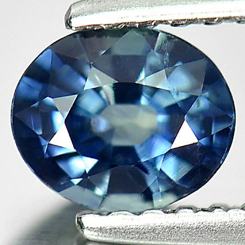 0.61 Ct. Delightful Oval Natural Gemstone Blue Sapphire Thailand