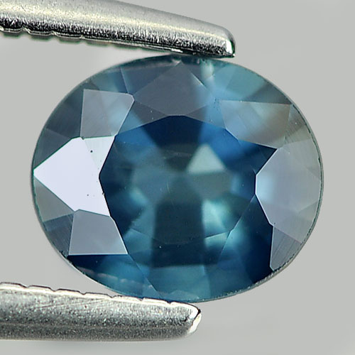 0.81 Ct. Delightful Natural Gem Blue Sapphire Oval Shape