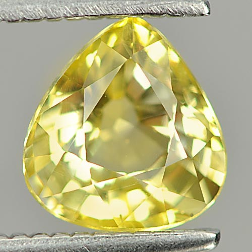 1.17 Ct. Alluring Natural Gemstone Yellow Sapphie Pear Shape
