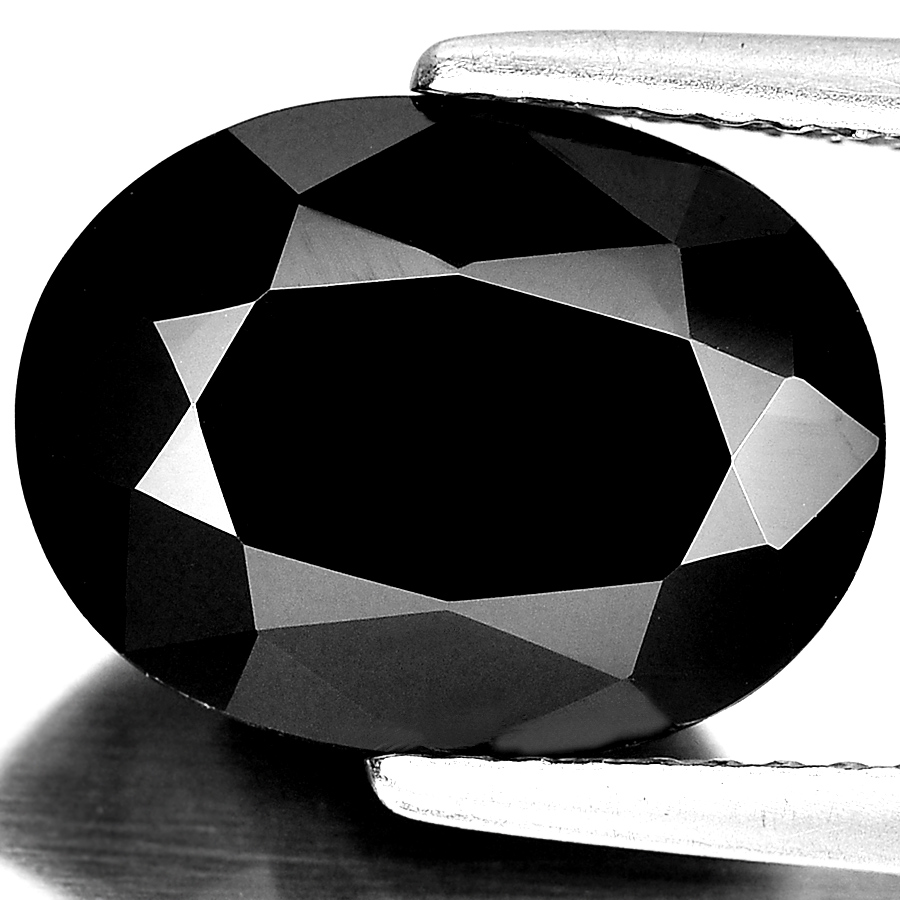 Unheated 4.93 Ct. Beauteous Oval Shape Natural Gemstone Black Spinel