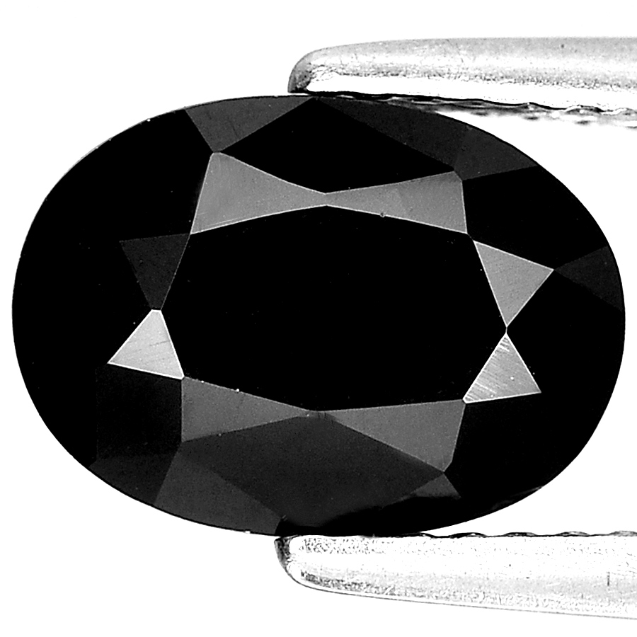 Unheated 2.86 Ct. Alluring Oval Shape Gem Natural Black Spinel From Thailand