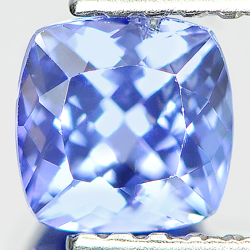0.73 Ct. Alluring Natural Cushion Violet Blue Tanzanite
