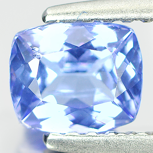 0.72 Ct. Stunning Natural Cushion Violet Blue Tanzanite
