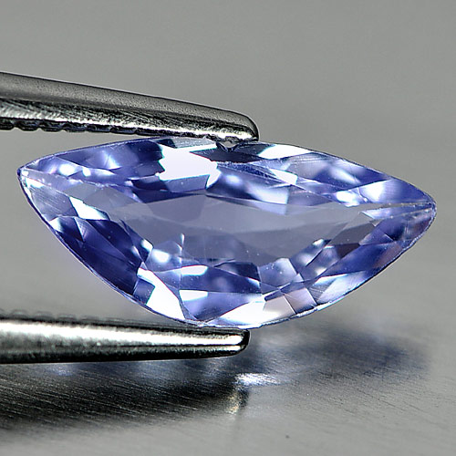 0.94 Ct. Clean Natural Fancy Violet Blue Tanzanite Gem
