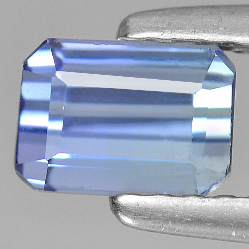 1.01 Ct. Sumptuous Natural Violet Blue Tanzanite Gem