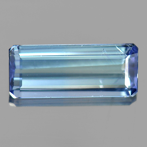 1.24 Ct. Attractive Octagon Natural Blue Tanzanite Gem