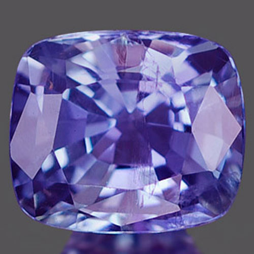 1.11 Ct. Interesting Natural Violet Blue Tanzanite Gem