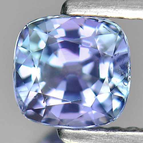 1.05Ct. Sparkling Cushion Natural Violet Blue Tanzanite