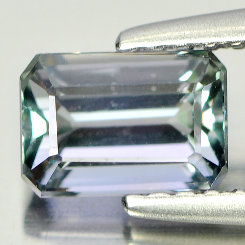 1.02 Ct. Luxurious Natural Blue Greenish Tanzanite Gem