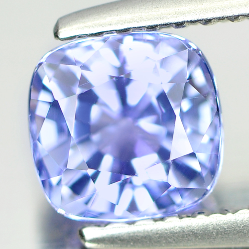 1.13 Ct. Cushion Shape Natural Gem Violetish Blue Tanzanite From Tanzania