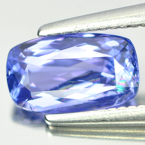 1.04 Ct. Cushion Shape Natural Gem Violetish Blue Tanzanite From Tanzania