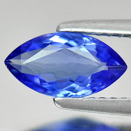 1.08 Ct. Clean Marquise Shape Natural Gem Violetish Blue D Block Tanzanite