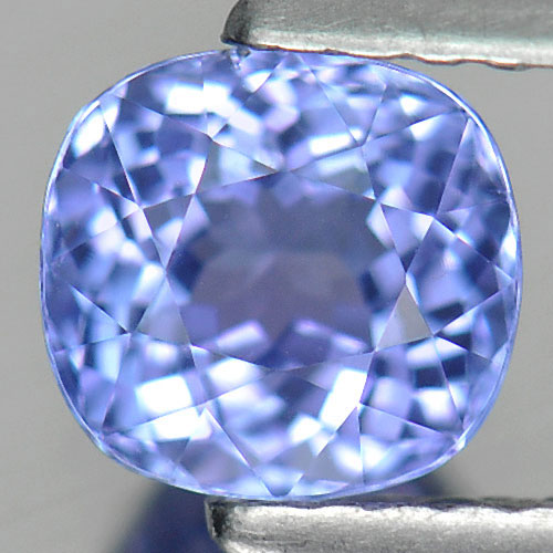 1.15 Ct. Clean Cushion Shape Natural Gem Violetish Blue Tanzanite From Tanzania