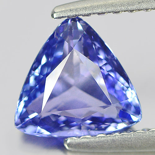 1.12 Ct. Trilliant Shape Natural Gemstone Clean Violet Tanzanite From Tanzania
