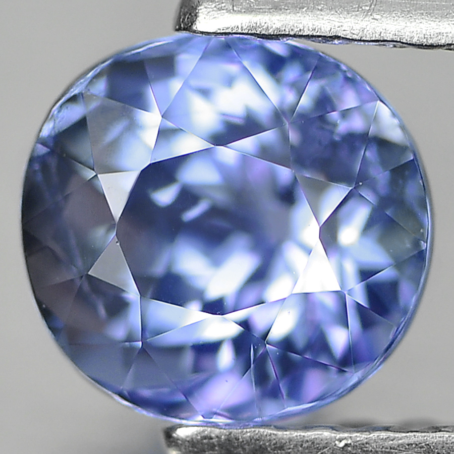 0.92 Ct. Cushion Shape Natural Violetish Blue Tanzanite Gem