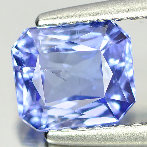 1.04 Ct. Clean Octagon Shape Natural Gem Violet Blue Tanzanite From Tanzania
