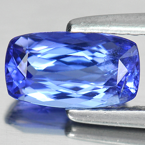 1.15 Ct. Clean Cushion Shape Natural Gemstone Violet Blue Tanzanite