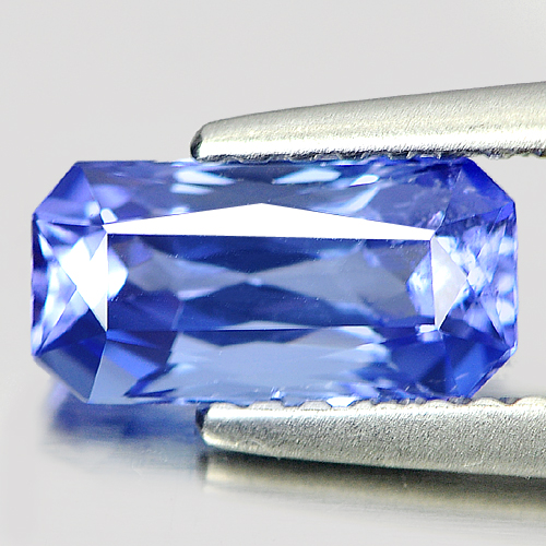 1.16 Ct. Good Octagon Shape Natural Gem Violet Blue Tanzanite