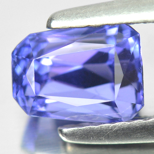 1.52 Ct. Clean Fancy Shape Natural Gem Violetish Blue Tanzanite From Tanzania