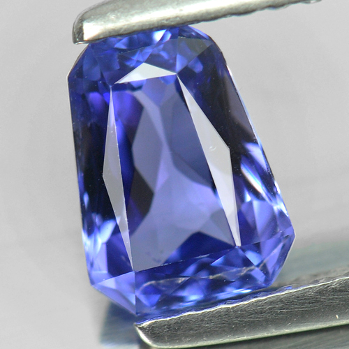 1.12 Ct. Fancy Shape Natural Gemstone Violetish Blue Tanzanite From Tanzania