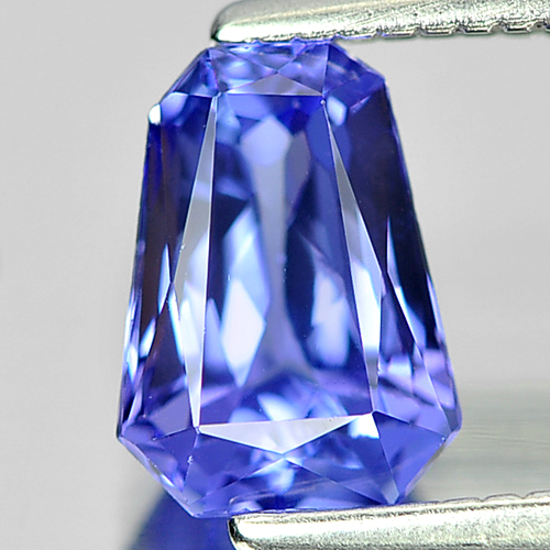 Good 0.90 Ct. Fancy Shape Natural Violetish Blue Tanzanite Gem