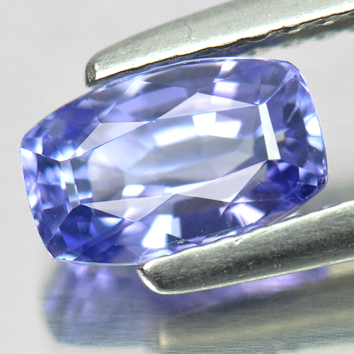 1.22 Ct. Fancy Shape Natural Gemstone Violetish Blue Tanzanite From Tanzania